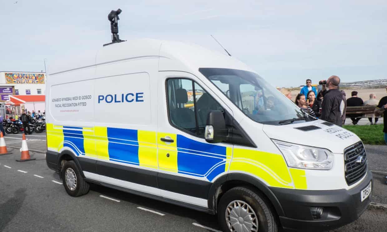 South Wales police van