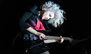 St Vincent and Glass Animals play in London, February 2014.
