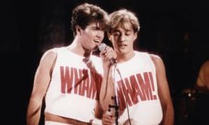 Wham! at Hammersmith Odeon.