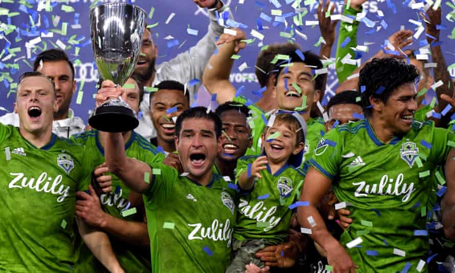 Seattle Sounders joined the league as an expansion team in 2009, have drawn large crowds and won two titles.