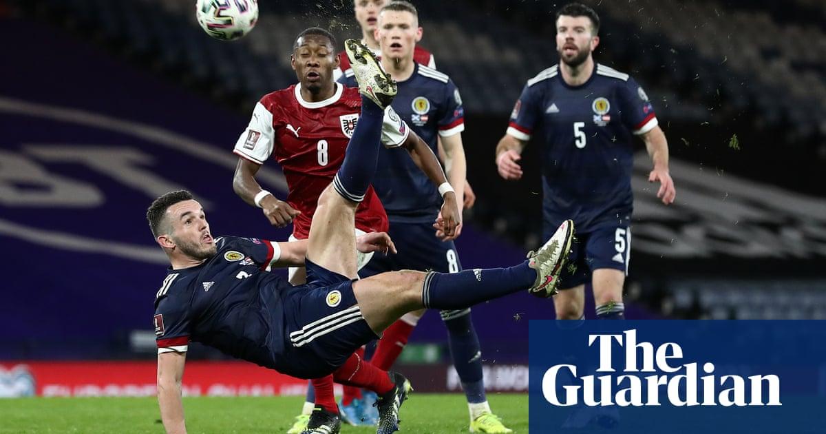 John McGinn's superb volley rescues point for Scotland against Austria