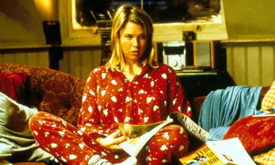 Renée Zellweger in the 2001 film Bridget Jones's Diary