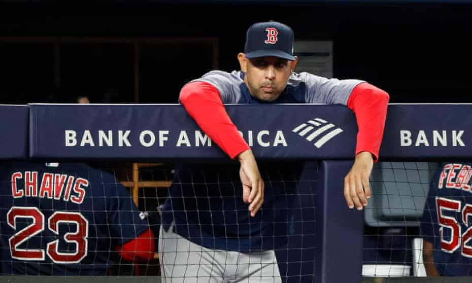 Boston's former manager received a one-year suspension for his part in the Houston Astros' cheating scandal