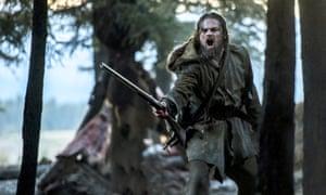 Leonardo DiCaprio in 20th Century Fox's The Revenant
