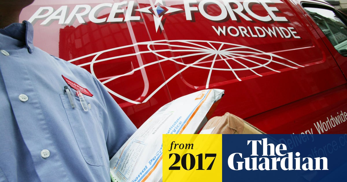 Sick Parcelforce couriers can be charged up to £250 if they can't
