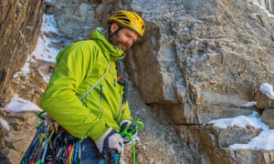 Scott Adamson, who is missing on Pakistan's notorious Ogre II peak with climbing partner Kyle Dempster.