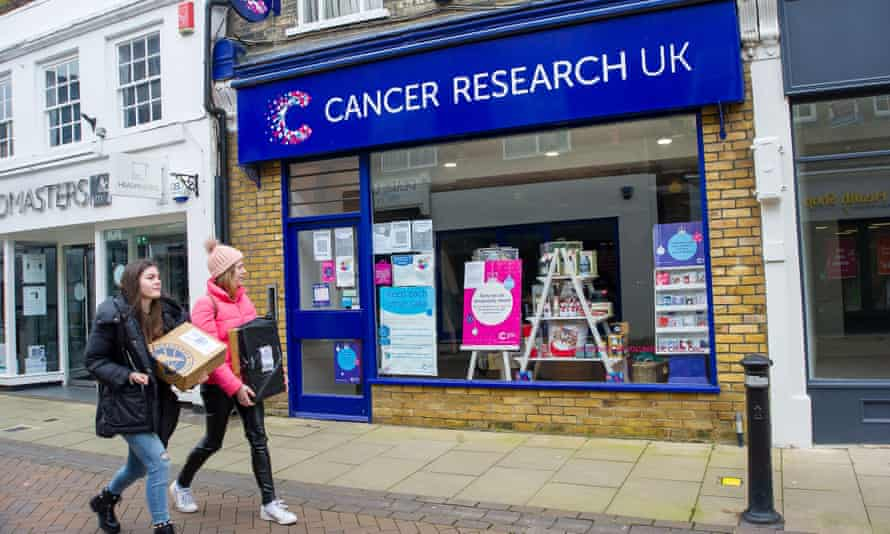 A Cancer Research UK shop in Windsor, Berkshire
