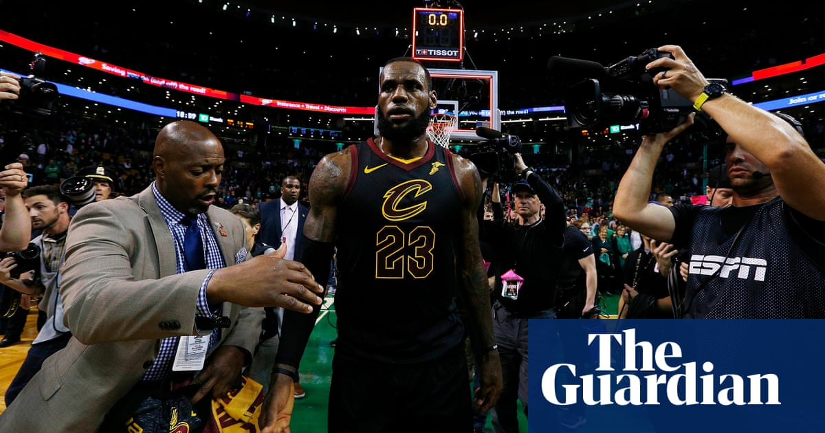87678e240ebb One-man army LeBron James is playing a different game than the rest of the  NBA