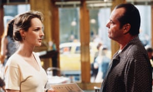 Helen Hunt and Jack Nicholson in As Good As It Gets.