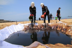 The admission by Pertamina that a burst pipe was responsible for the spill follows four days of denials by the company