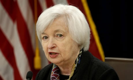 Markets await US GDP growth figures and Yellen speech – business live