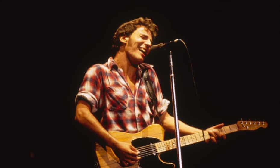 Bruce Springsteen in 1984
