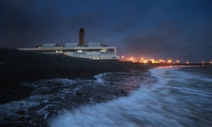 The Aberthaw power station in Wales.