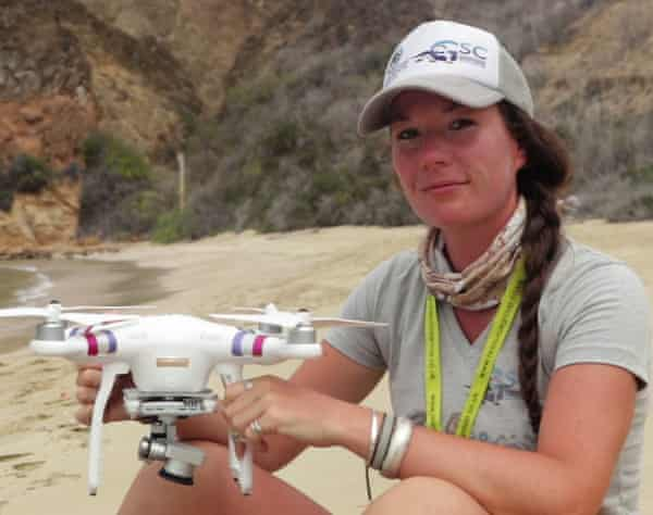 Filmmaker Ellie Mackay uses drones to document the natural world.