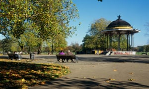 Bandstand in Clapham Common, London