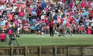 Tiger Woods was unable to finish well at the Players Championship, finding the water at the 17th at Sawgrass.