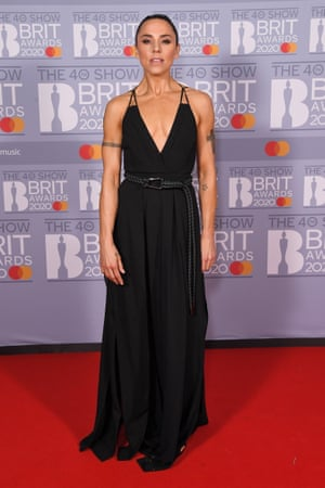 Melanie C at the Brit awards in February
