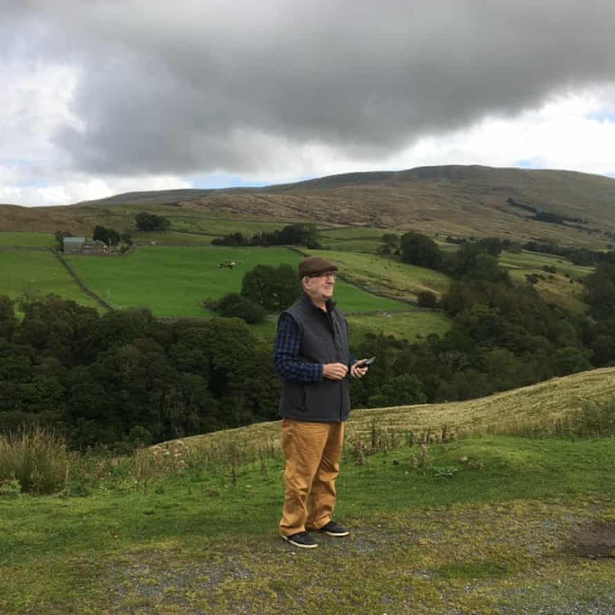 Bert Cattermole last year visiting the Yorkshire Dales, where he grew up and worked before moving to Australia in 1975.