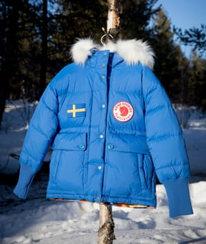 'The warmest coats you'll ever wear': Acne Studios collaboration with fellow cult Swedish label Fjällräven.