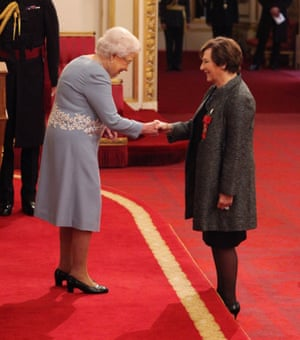 Delia Smith is made member of the Order of the Companions of Honour.