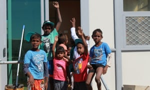 Some members of the Barkly community in the Northern Territory.