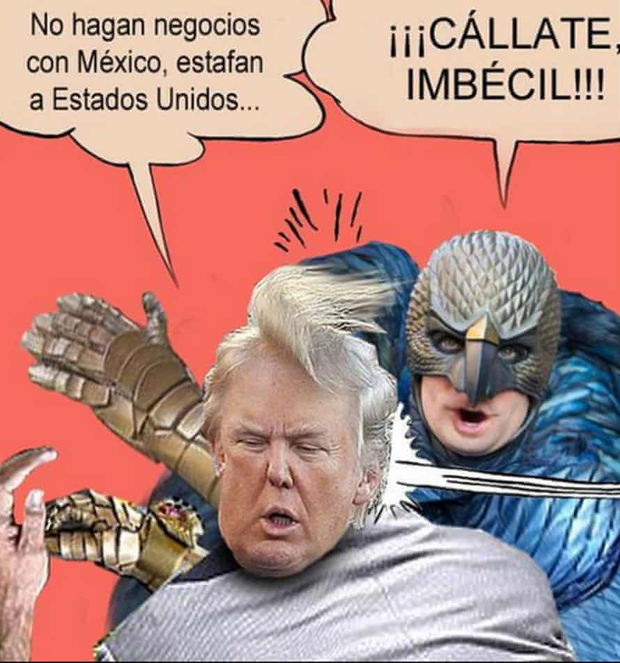 Anti-Trump meme from Mexico