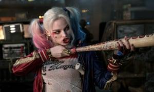 Margot Robbie in David Ayer's Suicide Squad.