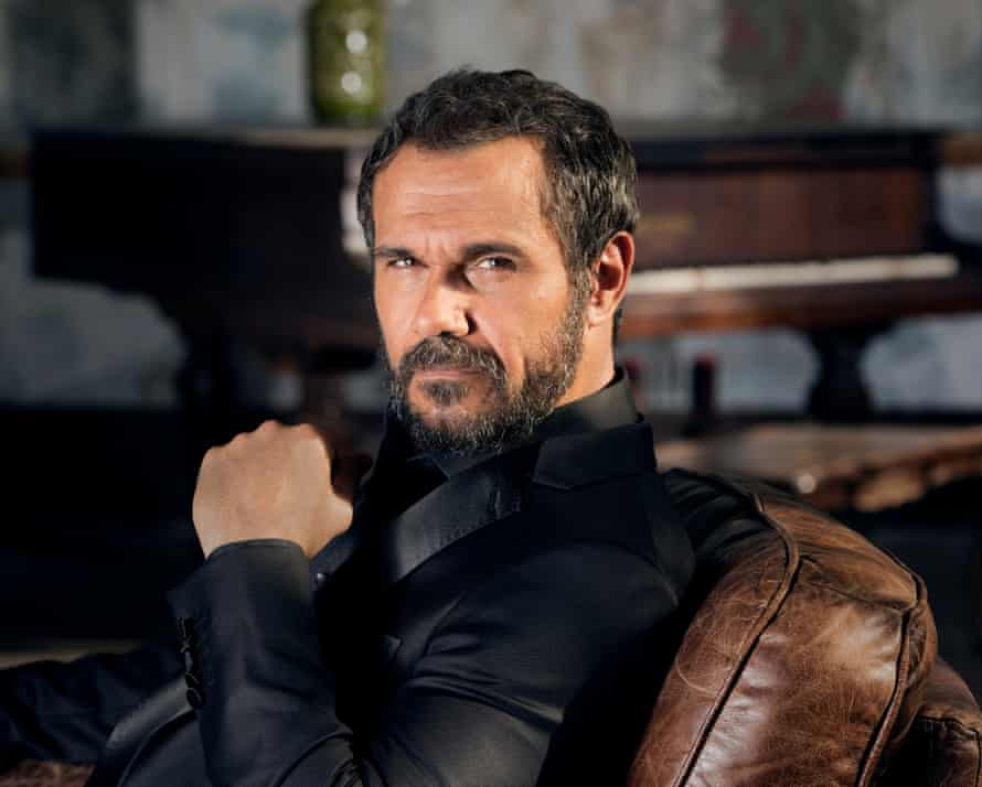 Australian actor Aaron Pedersen, who stars in Mystery Road, Jack Irish and other Australian films and TV shows.