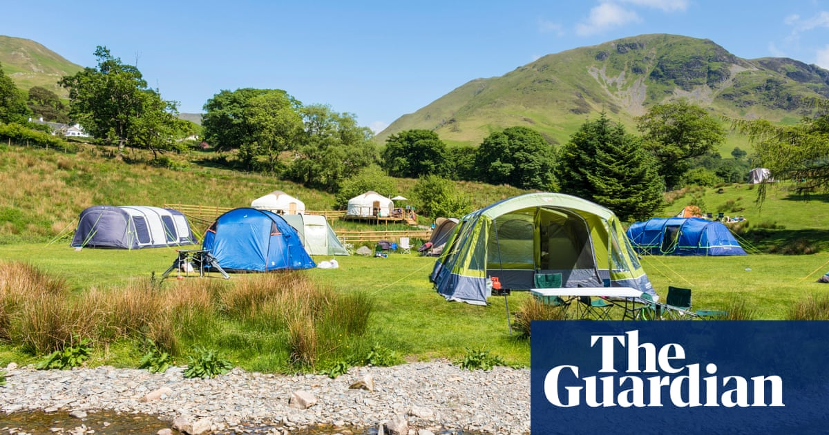Unhappy campers? Tents and other gear close to selling out in UK holiday boom