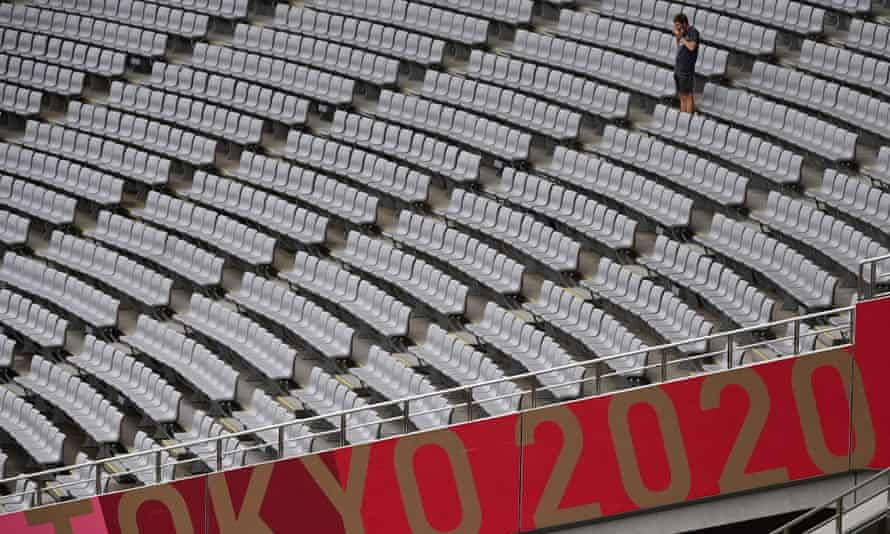 Empty seats at Tokyo 2020 were the norm due to the pandemic.
