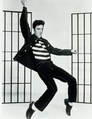 Elvis's moves occasioned both lust and outrage in the US in the 1950s.