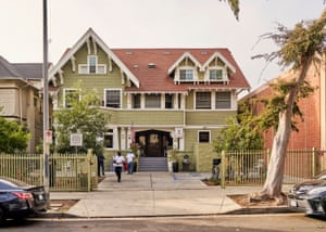 Blackwell's transitional home located in the Westlake neighborhood of Los Angeles.