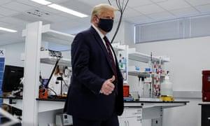 Trump visits Fujifilm Diosynth Biotechnologies' Innovation Center in Morrrisville, North Carolina