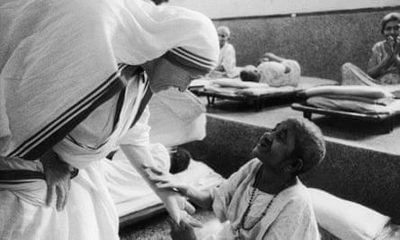 Mother Teresa in 1975.