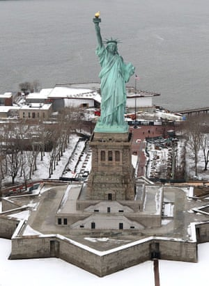 New York is currently bracing itself for its fourth cold storm in three weeks.
