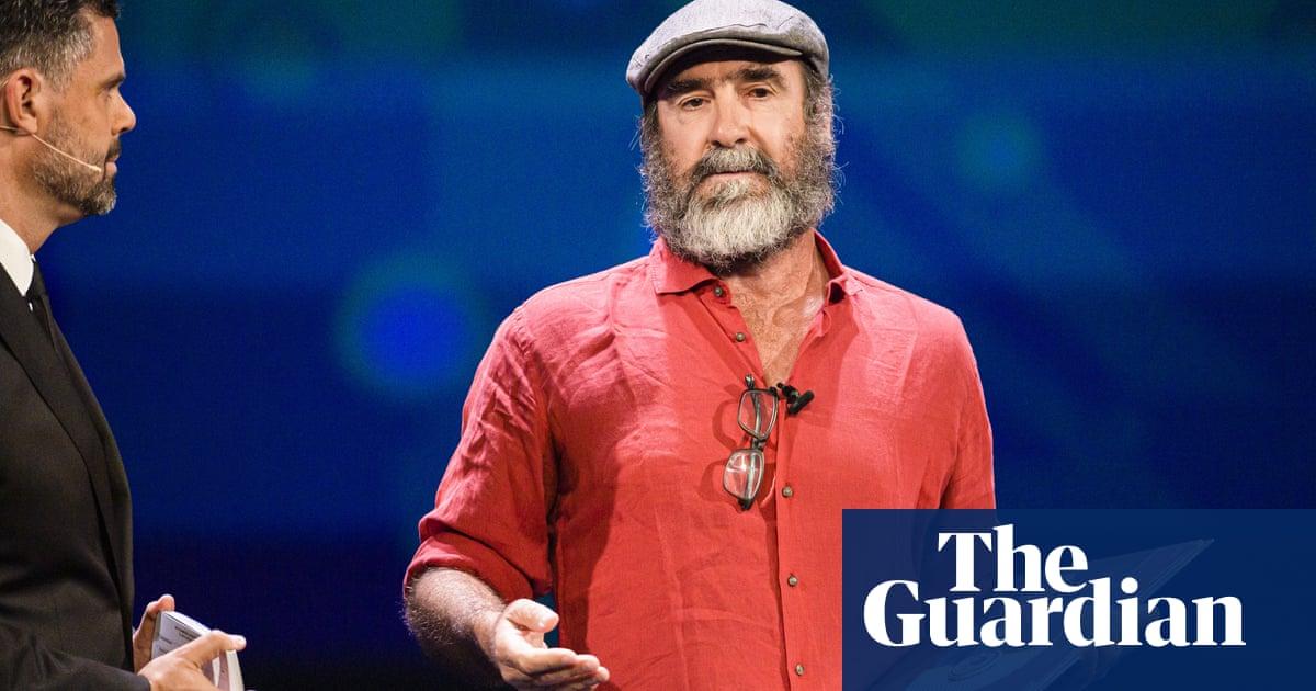 Eric Cantona speech: humans will become eternal – unless crime or war intervene