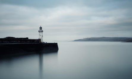 Whitehaven Harbour, Cumbria, featured in The Thing on the Shore by Tom Fletcher.
