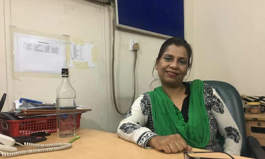 Wahida Idris, director of Bangladesh National Women Lawyers' Association.