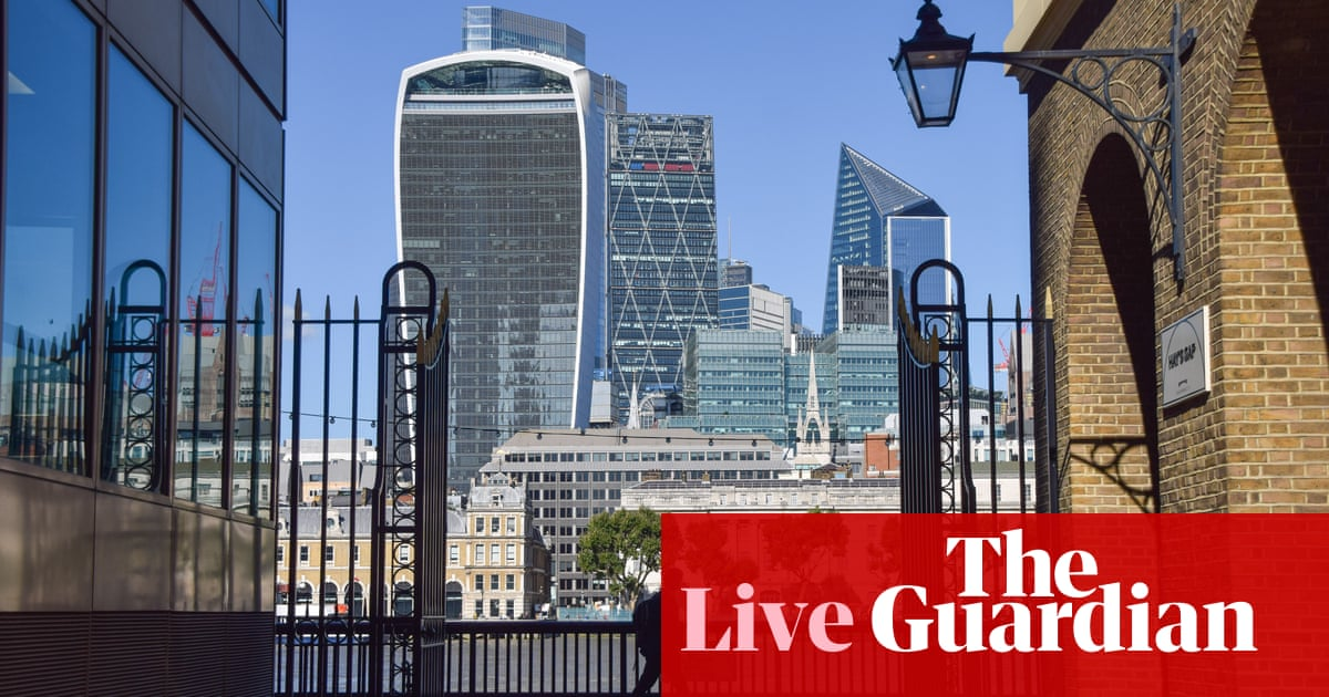 UK bond yields soar as investors anticipate interest rate rise; China's growth slows – business live