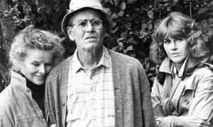 Katharine Hepburn, Henry Fonda and Jane Fonda in On Golden Pond