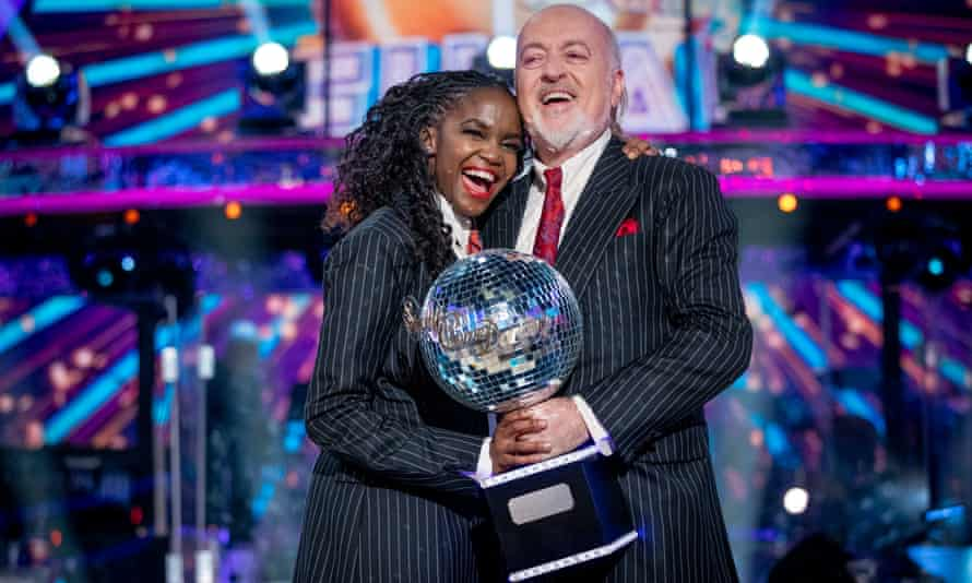 Oti Mabuse and Bill Bailey win the Strictly Come Dancing final