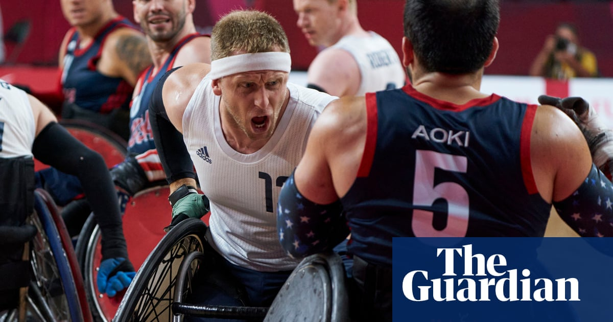 GB's wheelchair rugby champions relish spotlight after Paralympics award