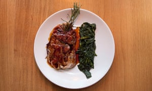 'Leaps into the mouth': saltimbocca.