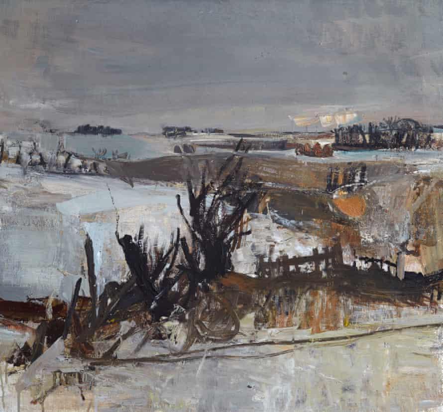Fields Under Snow, 1958.
