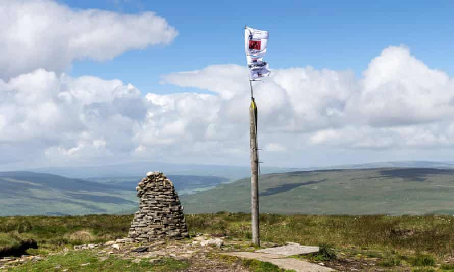 The Summit of Buckden Pike, Upper Wharfedale.