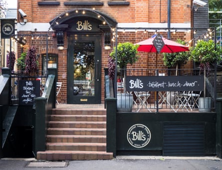 'You'd need an act of parliament to close the road now' … Bill's on Hoxton Square today.