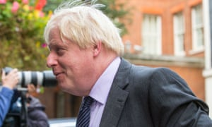 Boris Johnson said the attacks on him were political point scoring and trivialised a serious issue.