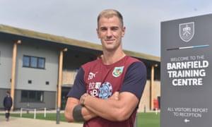 Joe Hart signs for Burnley