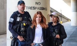 Stacey Dooley (centre).