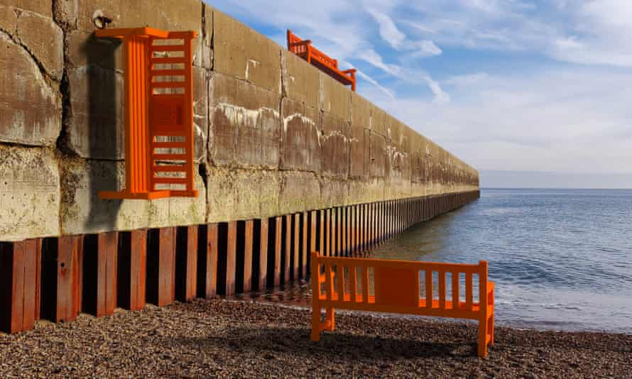 Artwork, part of Brighton's pier-to-pier  sound installation for Brighton Festival 2021.